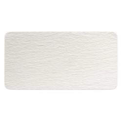 Тарелка прямоугольная 35х18 см Manufacture Rock blanc Villeroy & Boch