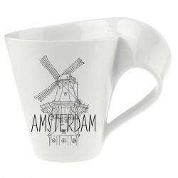 Амстердам Кружка с ручкой в подарочной упаковке Modern Cities Villeroy & Boch