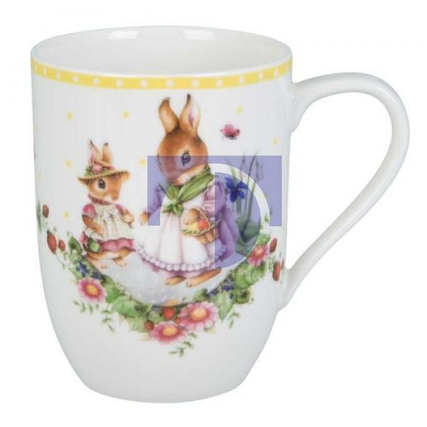 Кружка с ручкой Кролики 0,34 л Spring Awakening For Me Villeroy & Boch