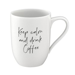 Кружка 0,34 л Keep calm and drink coffee - Statement Villeroy & Boch