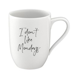 Кружка 0,34 л I don´t like Mondays - Statement Villeroy & Boch