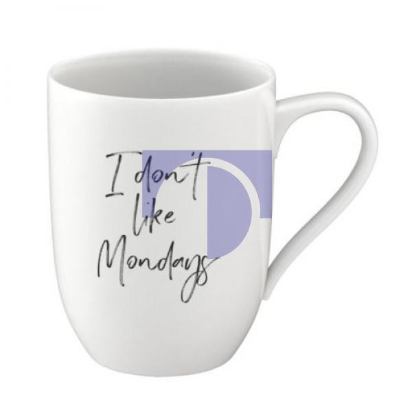 Кружка 0,34 л I don´t like Mondays - Statement Villeroy & Boch