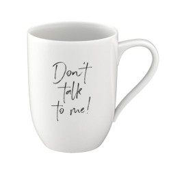 Кружка 0,34 л Don´t talk to me - Statement Villeroy & Boch