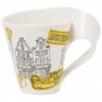 Амстердам Кружка с ручкой в подарочной упаковке New Wave Caffe Cities of the World Villeroy & Boch