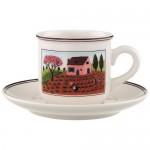 Блюдце для чайной чашки 15 см Design Naif Villeroy & Boch