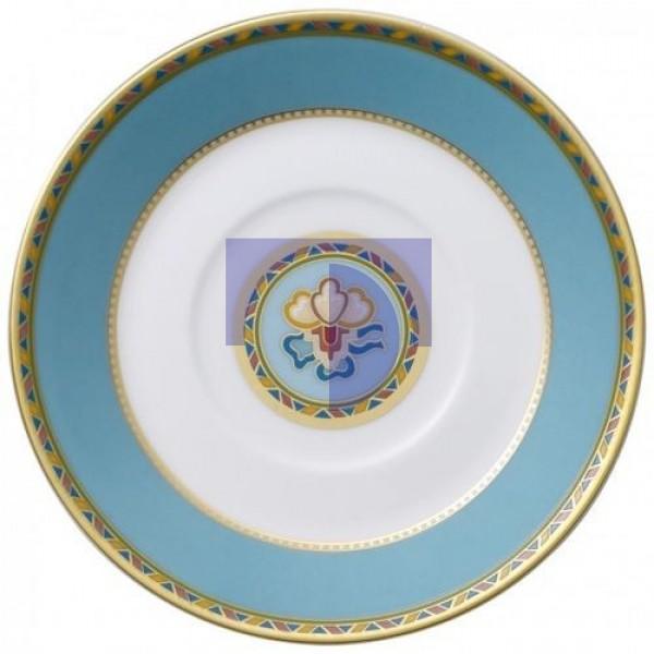 Блюдце для чашки для эспрессо 12 см Samarkand Aquamarin Villeroy & Boch
