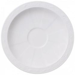 Блюдце для чашки для эспрессо 13 см White Pearl Villeroy & Boch