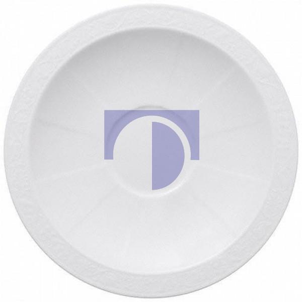 Блюдце для чашки для завтрака 18 см White Pearl Villeroy & Boch
