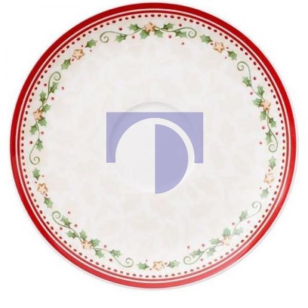 Блюдце для чашки для завтрака Падающая звезда 18 см Winter Bakery Delight Villeroy & Boch