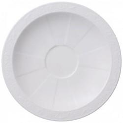 Блюдце для кофейной, чайной чашки 16 см White Pearl Villeroy & Boch