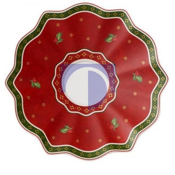 Блюдце для кружки с ручкой красное 19 см Toy's Delight Villeroy & Boch