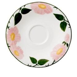 Блюдце к чашке для завтрака 16 см Rose Sauvage Villeroy & Boch