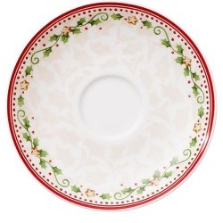 Блюдце к кофейной чашке Падающая звезда 14 см Winter Bakery Delight Villeroy & Boch