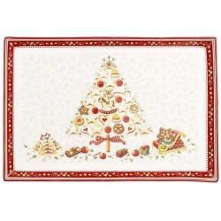 Блюдо для выпечки Елка 39 х 26,5 см Winter Bakery Delight Villeroy & Boch