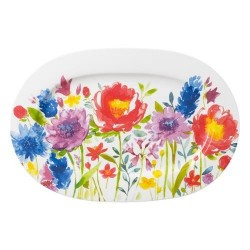 Блюдо овальное 34 см Anmut Flowers Villeroy & Boch