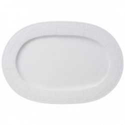 Блюдо овальное 35 см White Pearl Villeroy & Boch