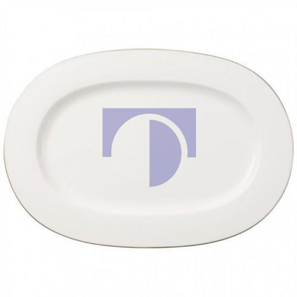 Блюдо овальное 41 см Anmut Platinum №1 Villeroy & Boch