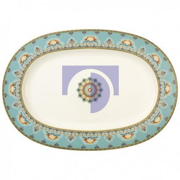 Блюдо овальное 41 см Samarkand Aquamarin Villeroy & Boch