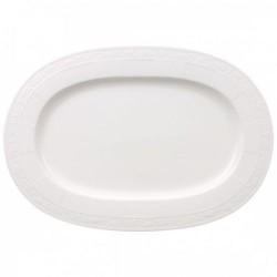 Блюдо овальное 41 см White Pearl Villeroy & Boch
