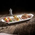 Блюдо сервировочное XL с отсеками для шампуров 52x22 см BBQ Passion Villeroy & Boch