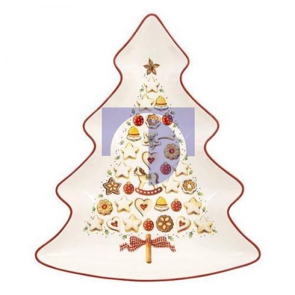 Блюдо в форме елки большое 26,5 см Winter Bakery Delight Villeroy & Boch