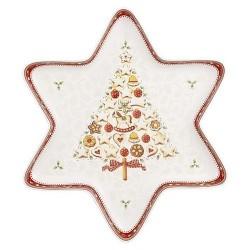 Блюдо в форме звезды 37,5 х 33 см Winter Bakery Delight Villeroy & Boch