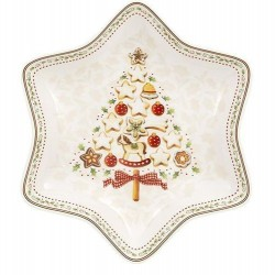 Блюдо в форме звезды Елка 27 см Winter Bakery Delight Villeroy & Boch