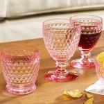 Бокал для красного вина розовый 132 мм Boston Coloured Villeroy & Boch