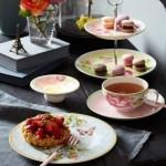 Чашка чайная с блюдцем розовые Rose Cottage Villeroy & Boch