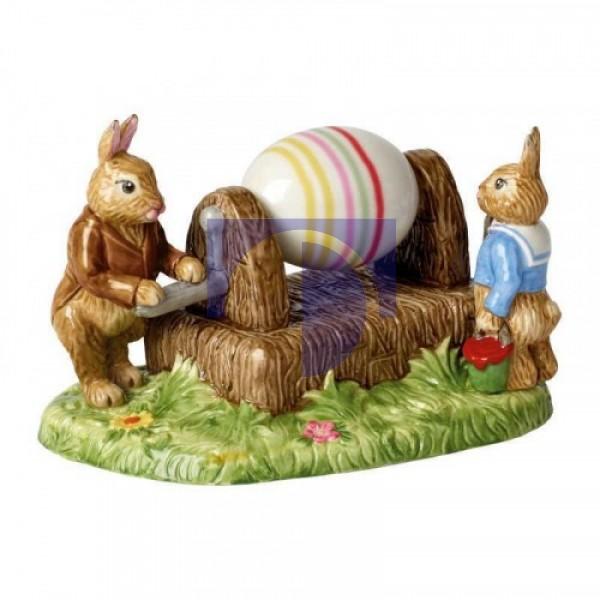 Декоративная фигурка Кролики Дедушка Ханс и Макс 16,5х11,5х11 см Bunny Tales Villeroy & Boch