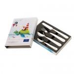 Детские столовые приборы 4 предмета Chewy around the world Villeroy & Boch