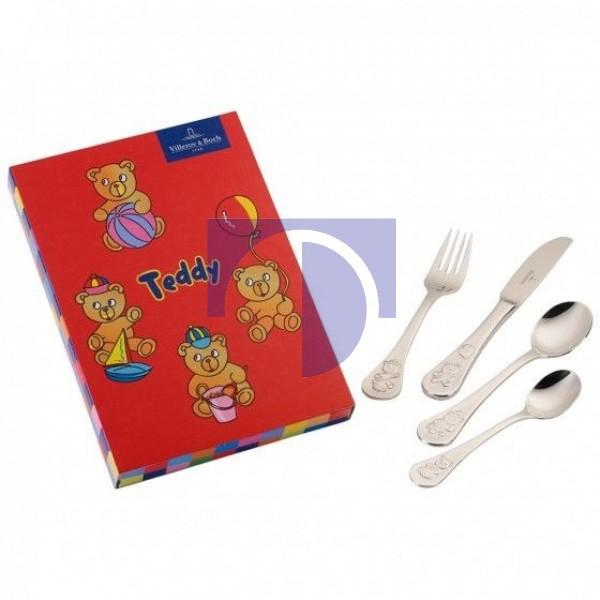 Детские столовые приборы 4 предмета Teddy Villeroy & Boch