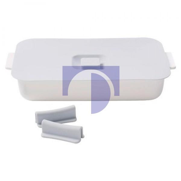 Форма для запекания прямоугольная 30 х 20 см с силиконовыми ручками и крышкой Clever Cooking Villeroy & Boch