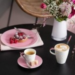 Кофейная тарелка 21 см Caffe Club Floral Touch of Rose Villeroy & Boch
