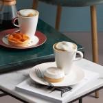 Кофейная тарелка 21 см Caffe Club Uni Pearl Villeroy & Boch