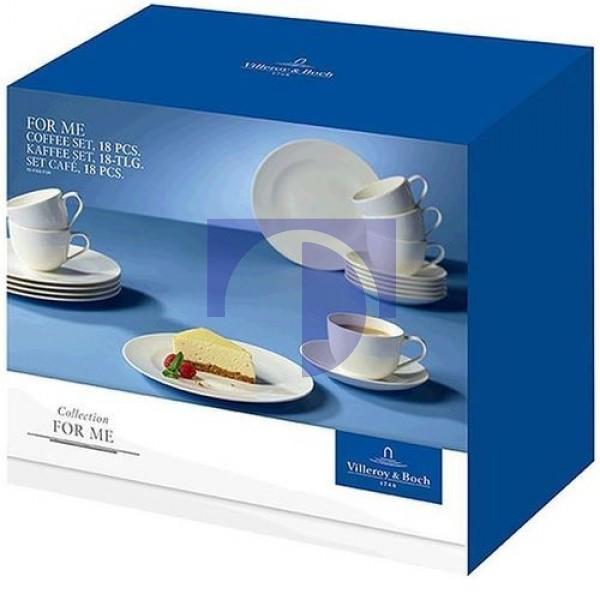 Кофейный набор посуды 18 предметов For Me Villeroy & Boch