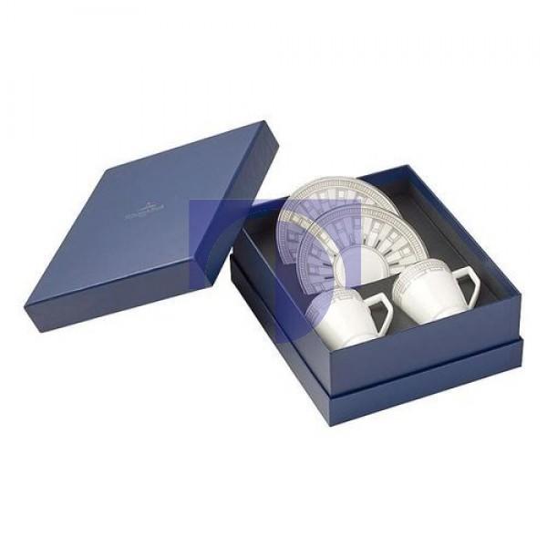 Кофейный сервиз для эспрессо 4 предмета La Classica Contura Villeroy & Boch