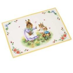 Коврик под тарелку Семья Кроликов 35х50 см Spring Fantasy Villeroy & Boch