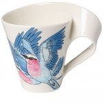 Кружка с ручкой Lilac-Breasted Roller 0,30 л New Wave Caffe Animals of the World Villeroy & Boch