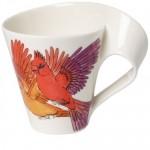 Кружка с ручкой Red Cardinal 0,30 л New Wave Caffe Animals of the World Villeroy & Boch