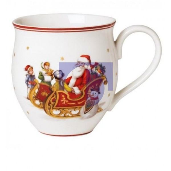 Кружка Санта Клаус на санях 0,34 л Toy's Delight Villeroy & Boch