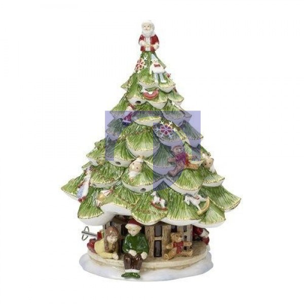 Музыкальная фигурка Елочка и дети 31x22 см Christmas Toys Memory Villeroy & Boch
