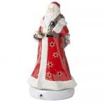 Музыкальная фигурка Санта с подсвечником для чайной свечи, 45 см Christmas Toys Memory Villeroy & Boch