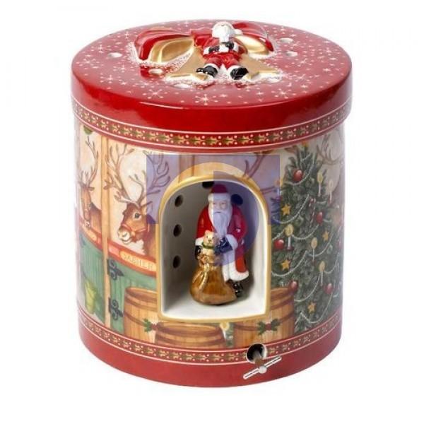 Музыкальная шкатулка с подсвечником Хлев 21 см Christmas Toys Villeroy & Boch
