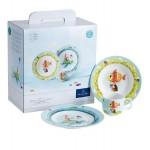 Набор детской посуды 3 предмета Chewy around the world Villeroy & Boch