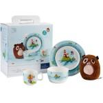 Набор детской посуды 4 предмета Chewy around the world Villeroy & Boch