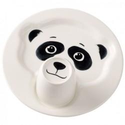 Набір дитячого посуду Панда Animal Friends Villeroy & Boch