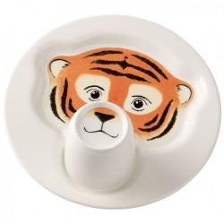 Набір дитячого посуду Тигр Animal Friends Villeroy & Boch