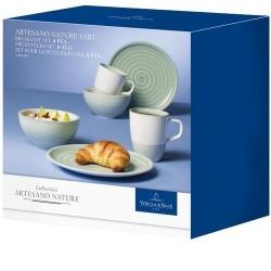 Набор для завтрака на 2 персоны 6 предметов Artesano Nature Vert Villeroy & Boch