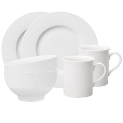Набір для сніданку на 2 персони з 6 предметів Twist White Villeroy & Boch